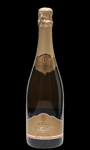 Zlata radgonska penina rose brut - vrhunsko peneče vino. Radgonska penina ob narezku. Vinski bar Vodole–posestvo Soncni raj