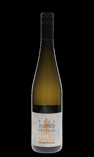 Belo vino Joannes Protner-renski rizling, polsuho, 2018. Vinska fontana Vodole–posestvo Sončni raj