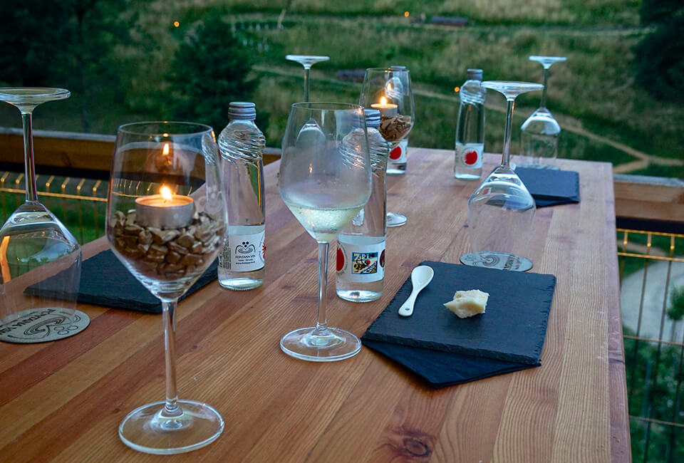 Fontana vin Vodole – dogodki. Pokušina vin in narezkov.