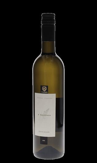 Belo vino Freser sauvignon – Štajerska. Vinska fontana Vodole–vinoteka in vinski bar.