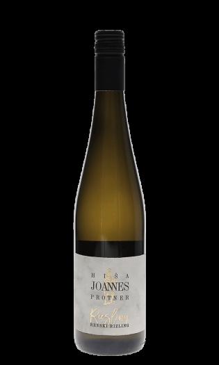 Belo vino Joannes Protner-renski rizling, polsuho. Vinska fontana Vodole–posestvo Sončni raj