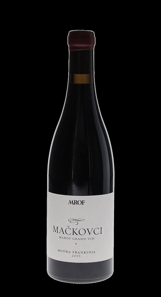 Rdeča vina – Mrof Mačkovci, Modra frankinja, 2015. Fontana vin Vodole - posestvo Sončni raj