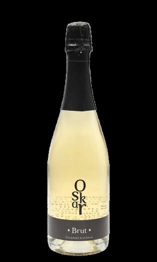 Belo vino Brut Oskar – štajerska Slovenija. Vinska fontana Vodole–vinoteka in vinski bar.