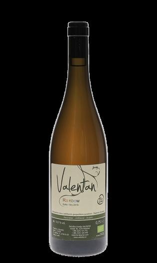 Belo vino Valentan – Rainbow, suho, 2019. Vinska fontana Vodole–posestvo Sončni raj.