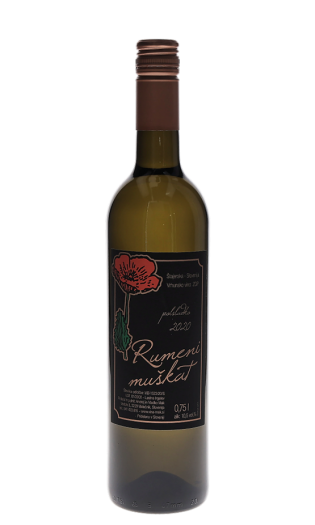 Belo vino Vlado Mak - Rumeni muškat 2020. Vinska fontana Vodole–posestvo Sončni raj