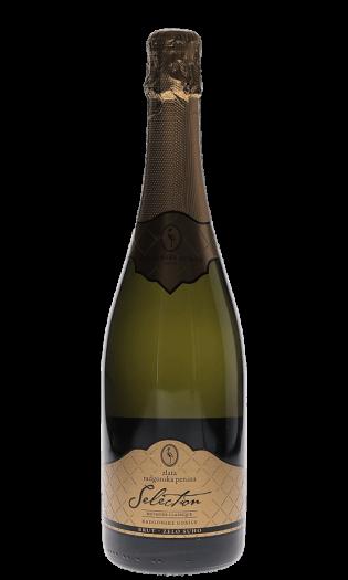 Zlata radgonska penina – vrhunsko peneče vino. Radgonska penina ob narezku. Vinski bar Vodole–posestvo Soncni raj