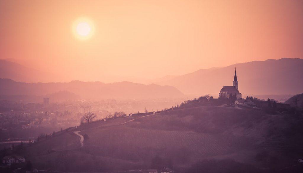 Lokacija posestva sončni raj – vinska cesta Vodole